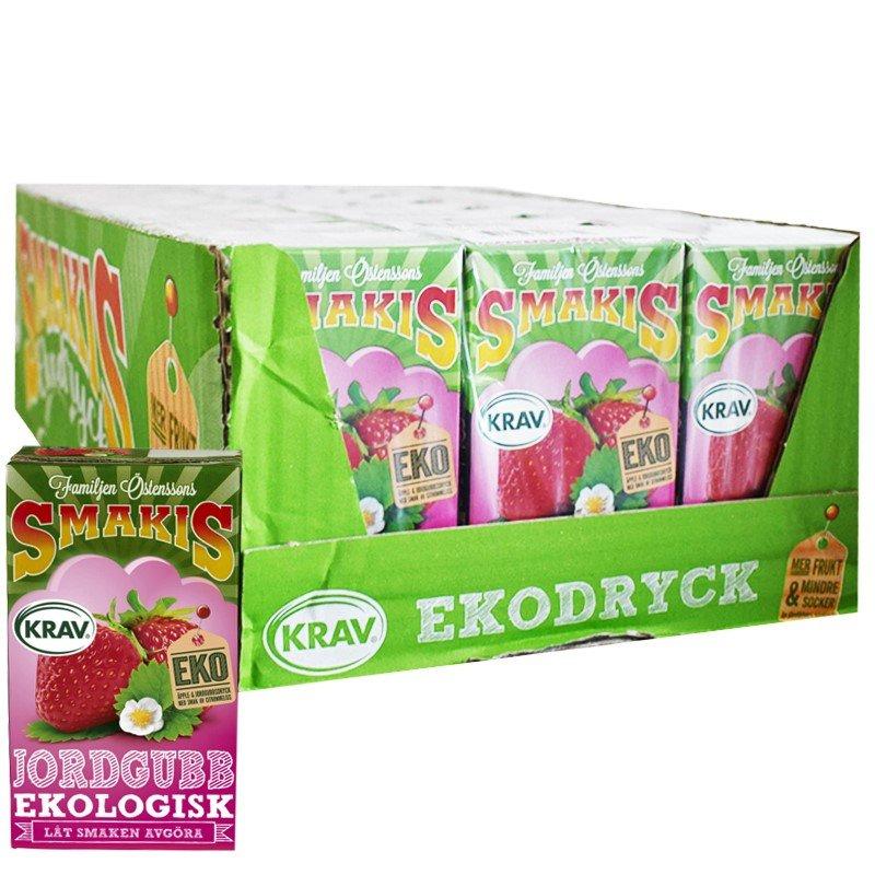 Eko Fruktdryck Jordgubb 27-pack - 20% rabatt