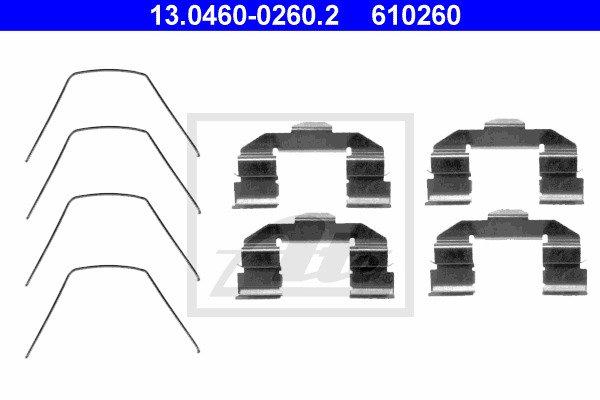 Tarvikesarja, jarrupala ATE 13.0460-0260.2