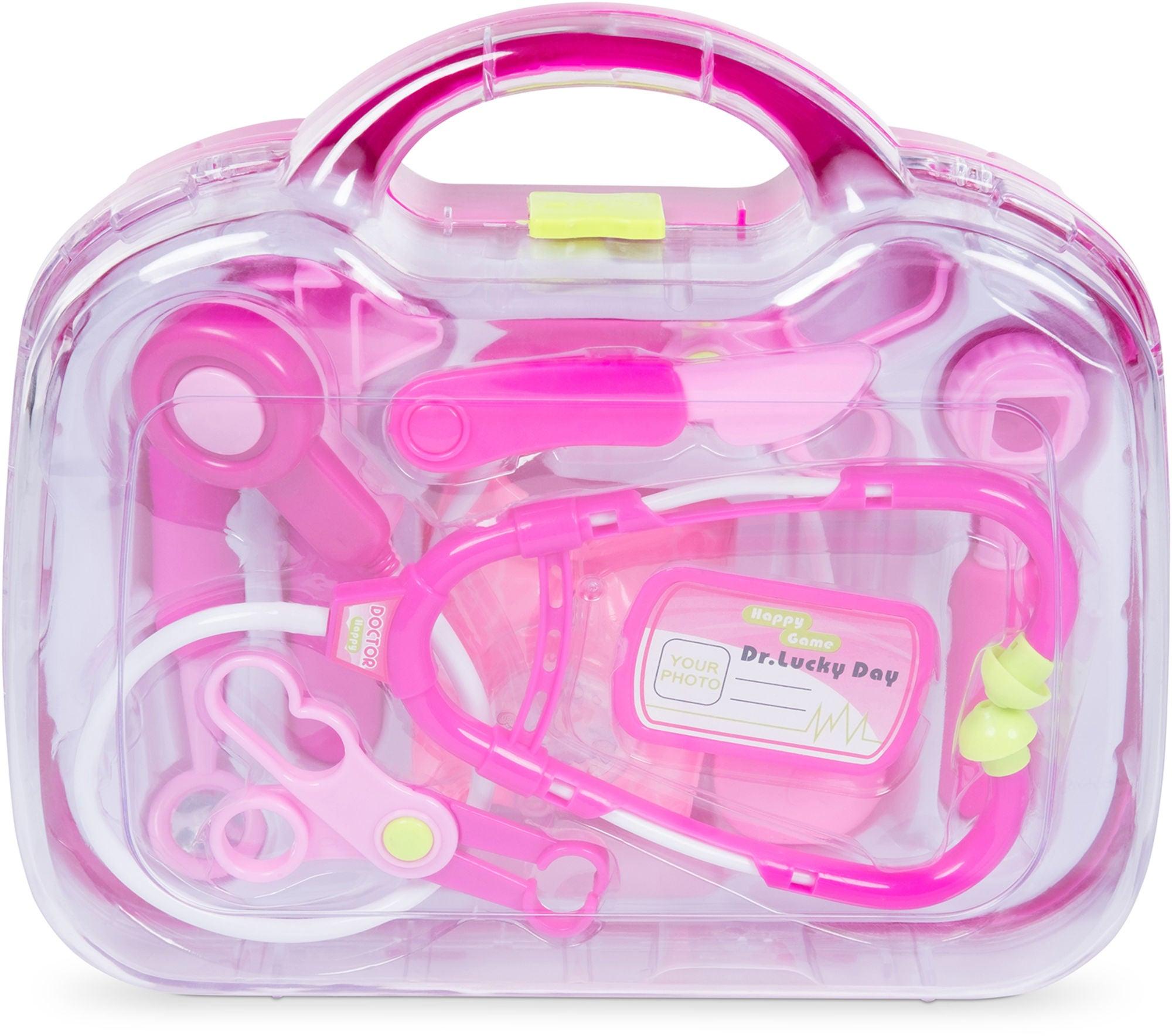 Cloudberry Castle Lääkärinlaukku Maxi 9 Osaa, Pinkki