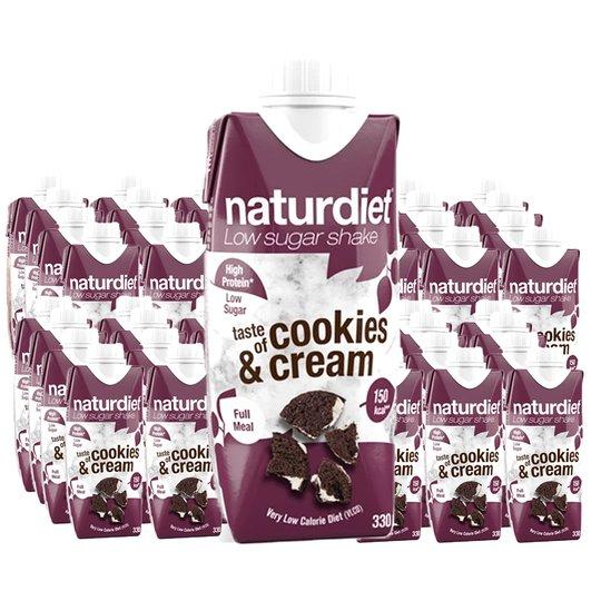 Måltidsersättning Shake Cookies & Cream 48-pack - 28% rabatt