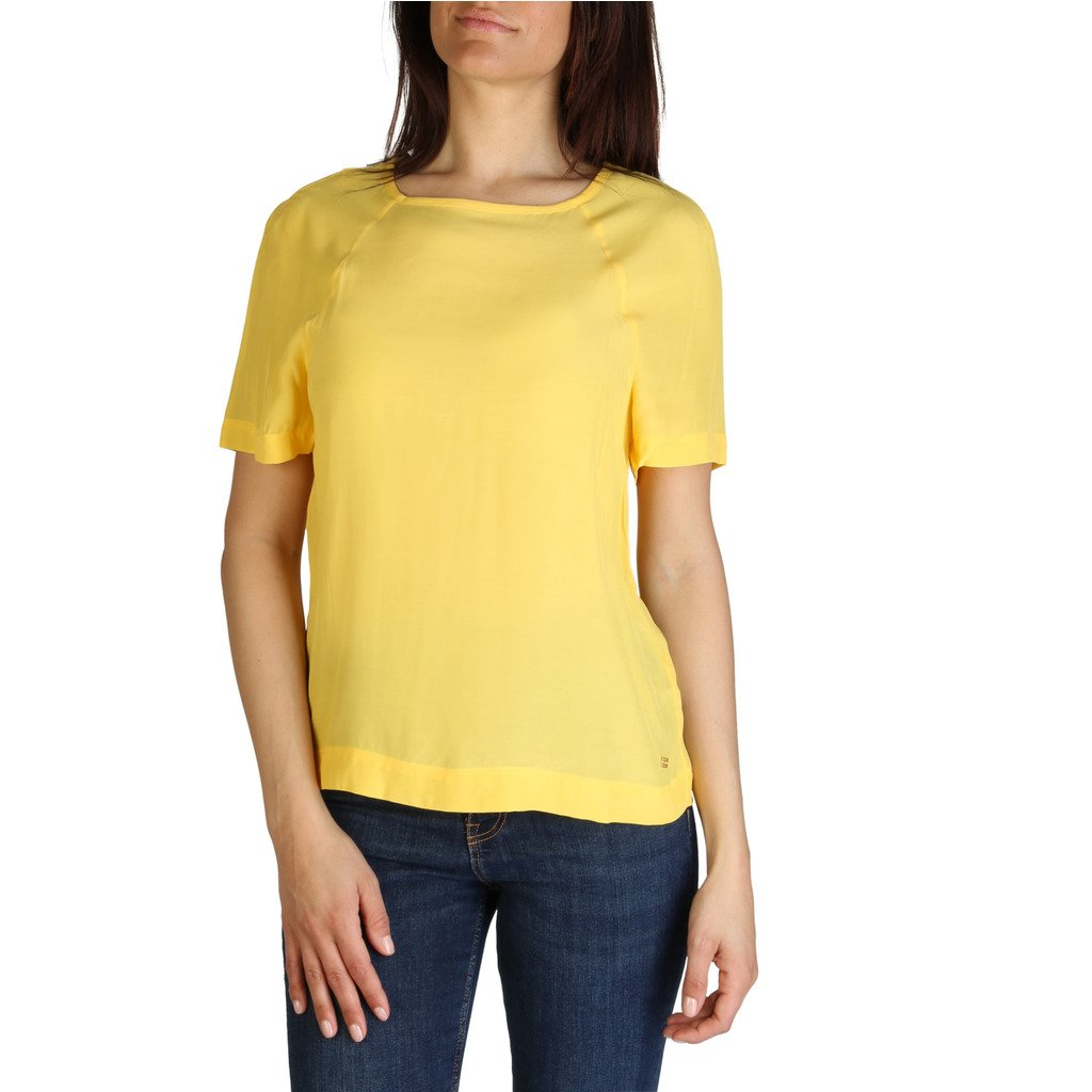 Tommy Hilfiger Women's T-Shirt Blue XW0XW01059 - yellow 2