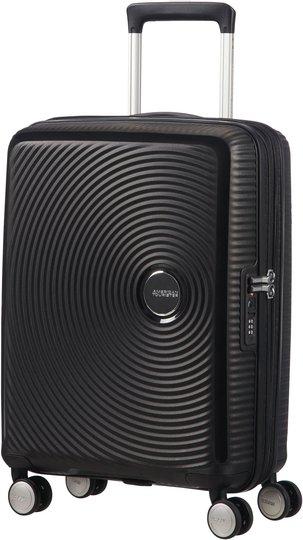 American Tourister Soundbox Spinner Koffert 35.5L, Bass Black