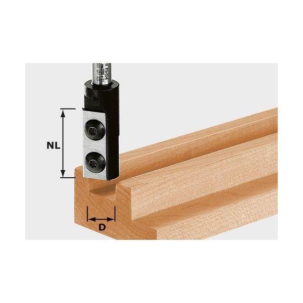 Festool HW D14/30 S8 Urajyrsin kääntöterä, 8 mm