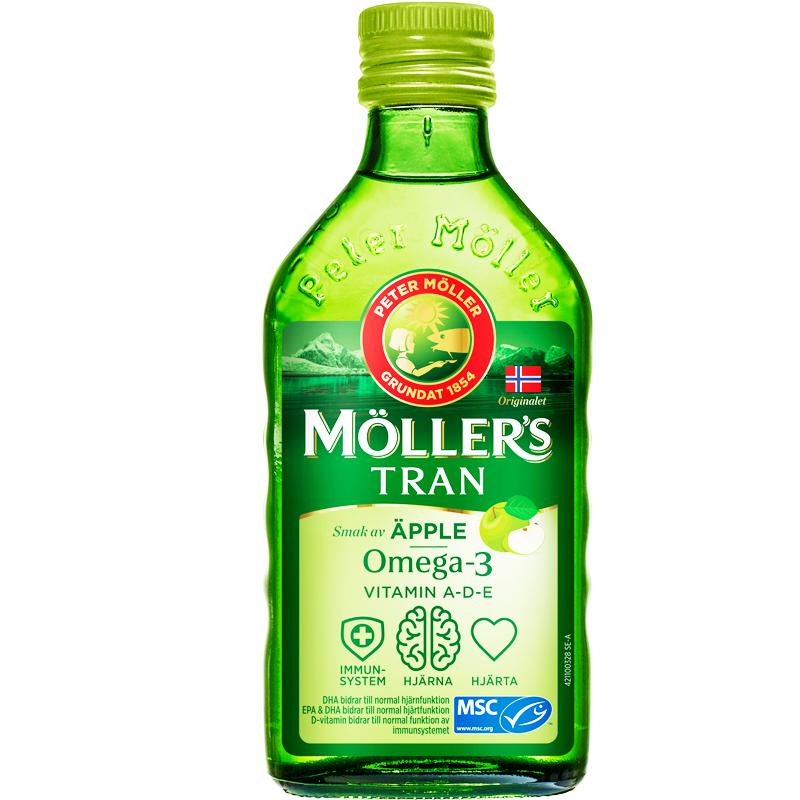 Kosttillskott Omega-3 Äpple inkl D-vitamin - 89% rabatt