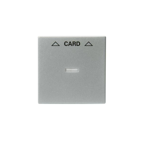 ABB 1792-83 Midtplate for kortbryter Aluminium