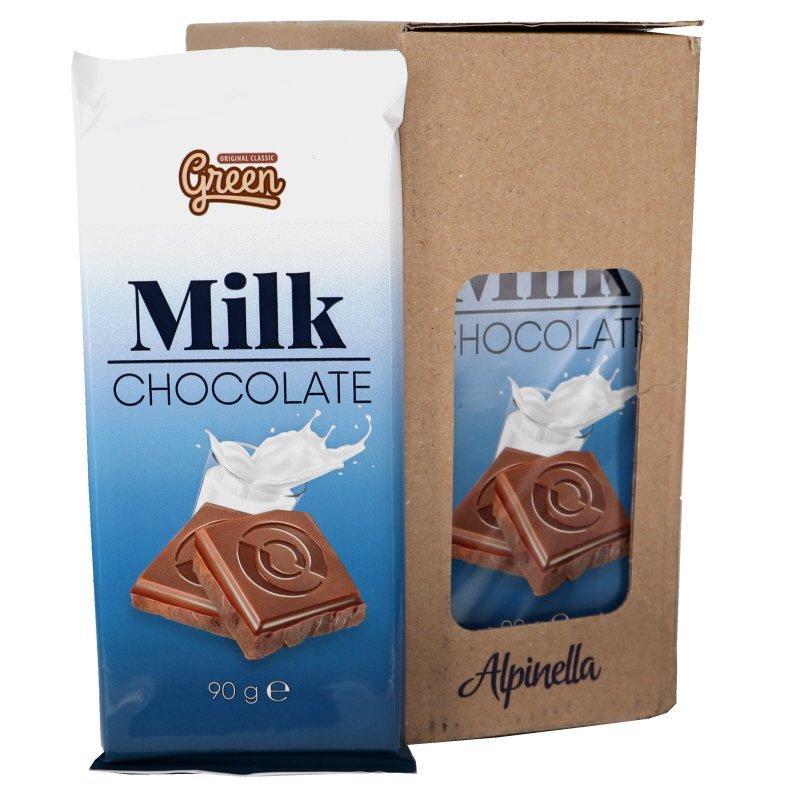 Mjlökchoklad 25-pack - 60% rabatt