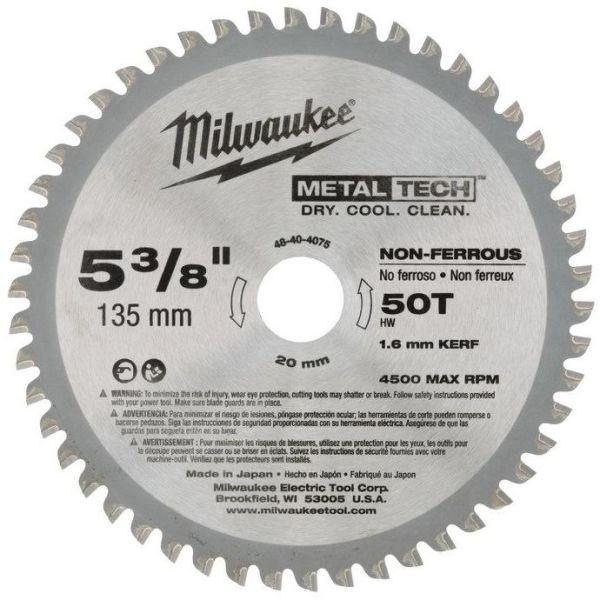 Milwaukee 48404075 Sagklinge 135x20mm, 50T