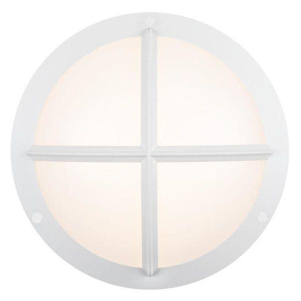 Hide-a-Lite Moon Public Cross I Seinävalaisin 3000/4000K, 16W, IP65, IK10 valkoinen, 1230 lm