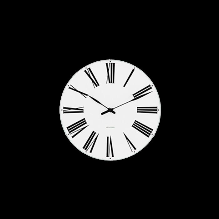 Arne Jacobsen - Roman Wall Clock Ø 16 cm (43622)