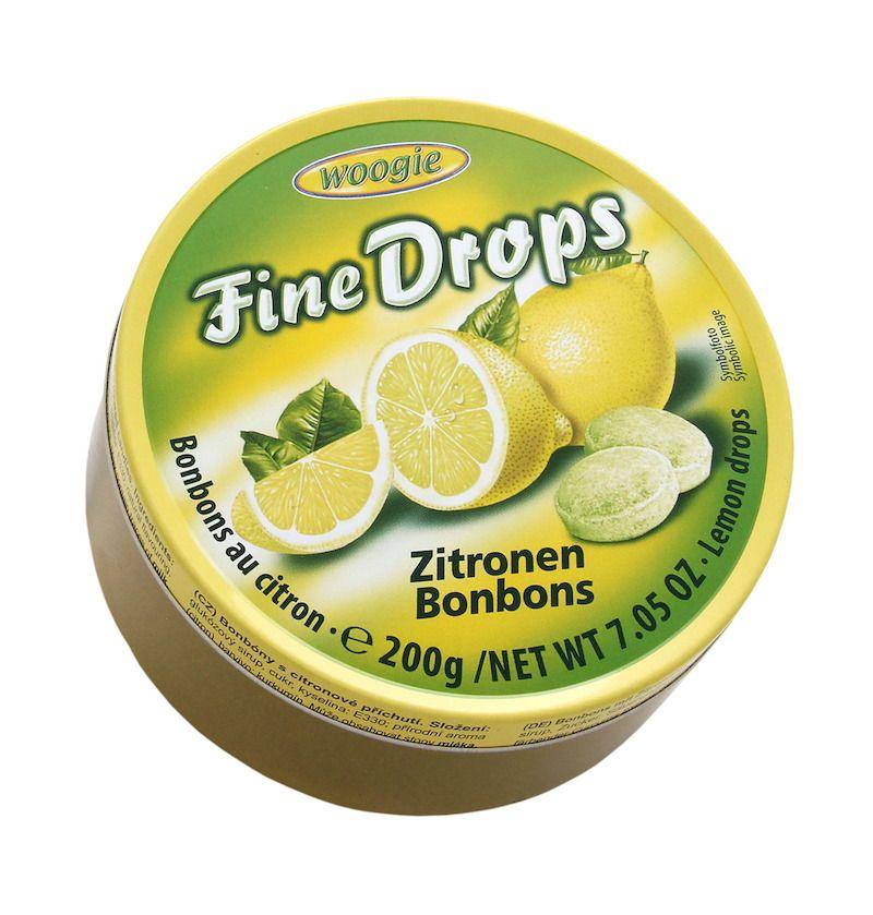 Woogie Fine Drops - Citron 200g