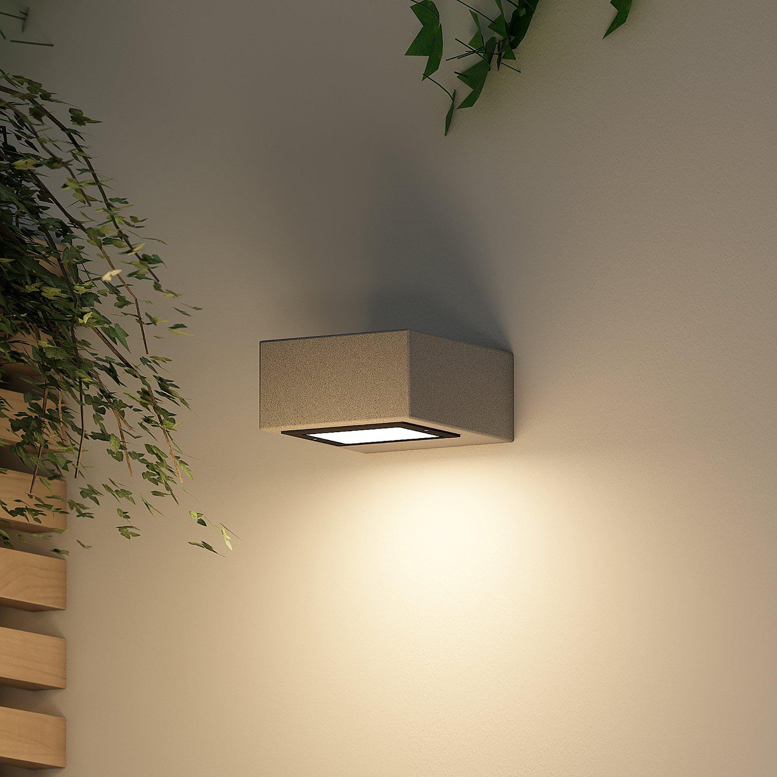 Arcchio Udonna LED-vegglampe, fatning øverst