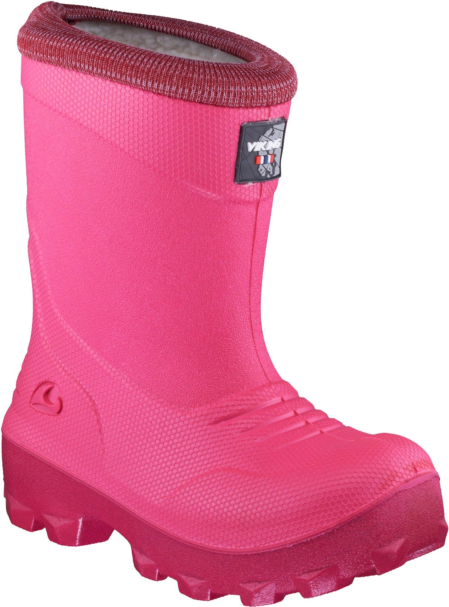 Viking Frost Fighter Vinterstövel, Pink/Cerise 35