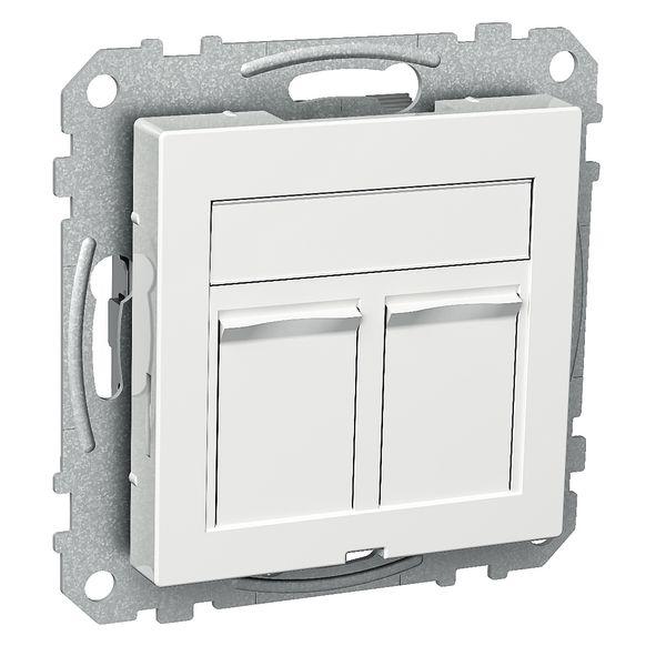 Schneider Electric Actassi WDE002434 Midtplate 2 koblinger Plan
