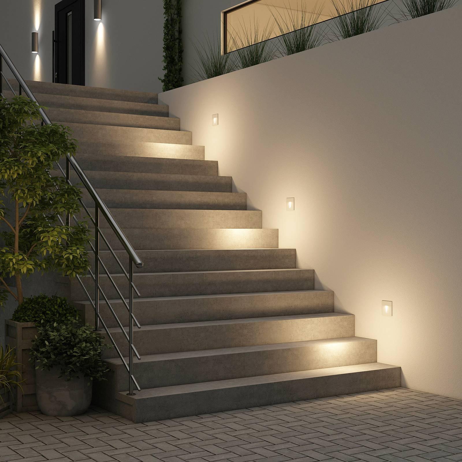 Arcchio Lanti LED-innfellingslampe, hvit