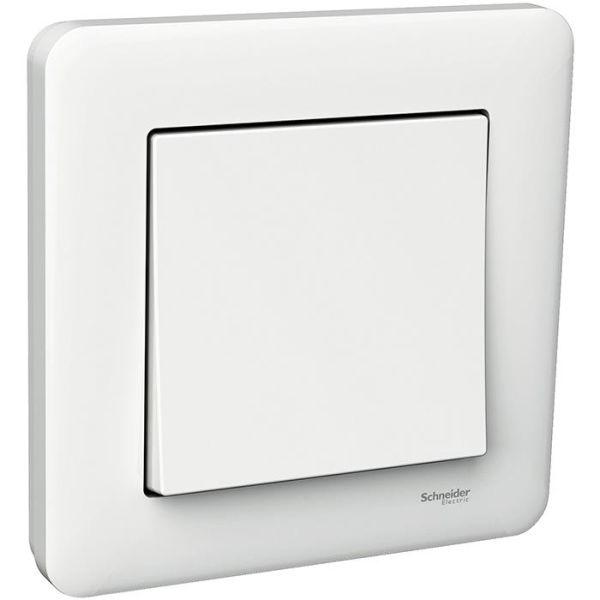 Schneider Electric Exxact Primo Kytkin portaikko/1-napainen, valkoinen