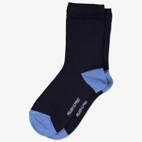 Ullsokker mørkblå