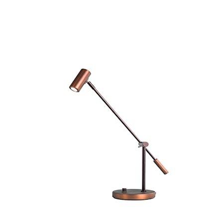 Cato Bordlampe Oksidert LED Dimbar