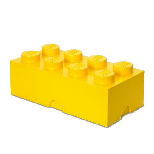 Room Copenhagen - LEGO Storeage Brick 8 - Bright Yellow (40041732)