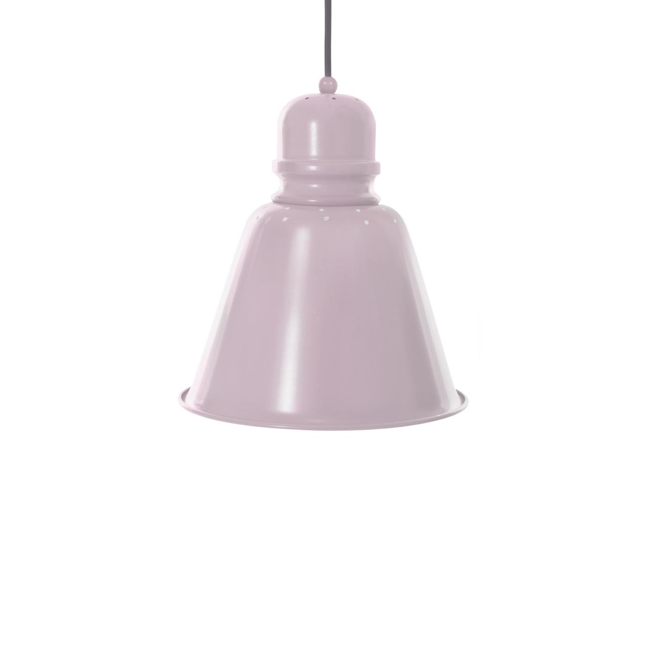 Metallampa XL rosa pastell, Sebra interiör