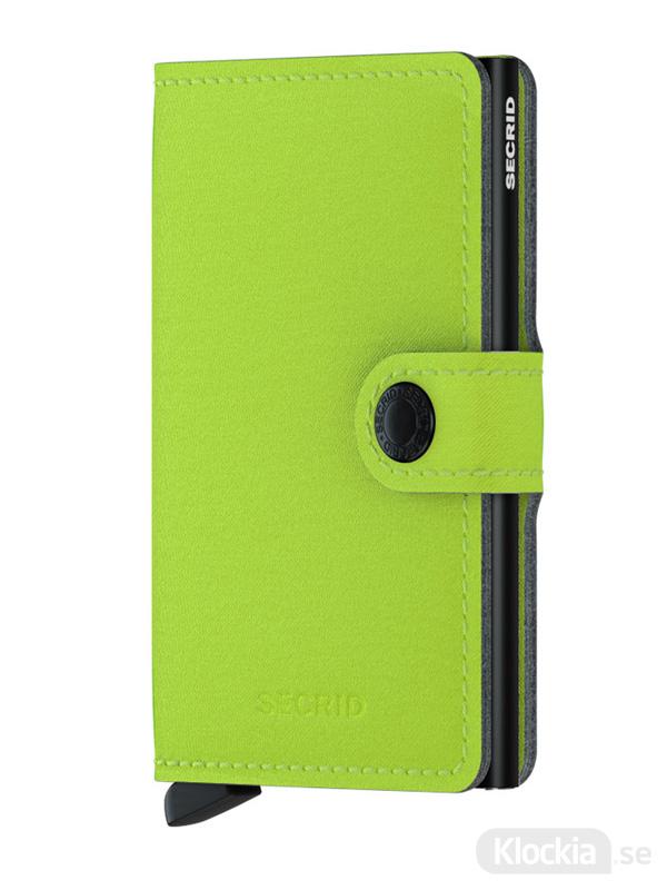 Plånbok SECRID Miniwallet Yard Lime