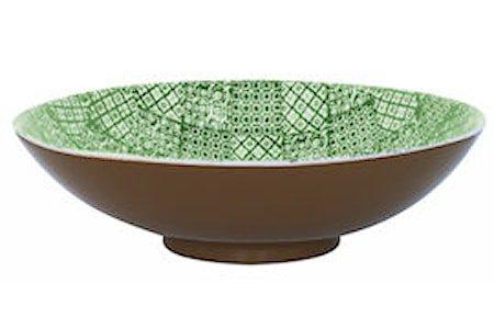 Salatsskål L Minerva Grønn Ø 40 cm