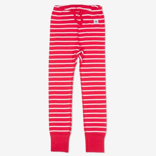 Stillongs stripet barn rød