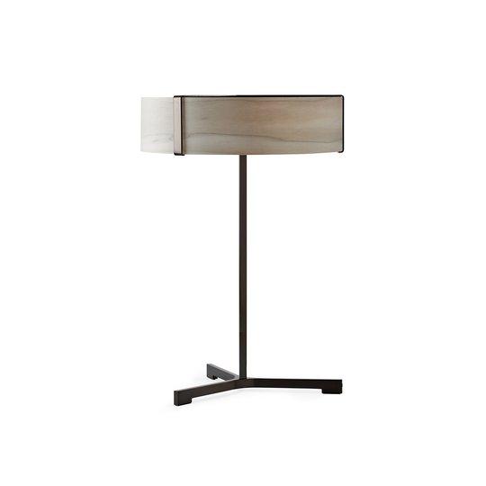 LZF Thesis LED-bordlampe svart matt/grå