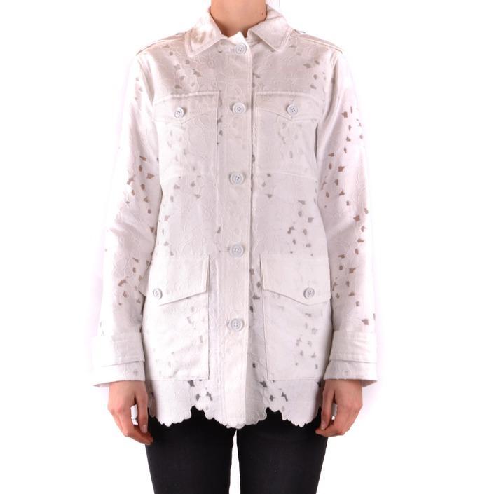Michael Kors Women's Blazer White 166053 - white S