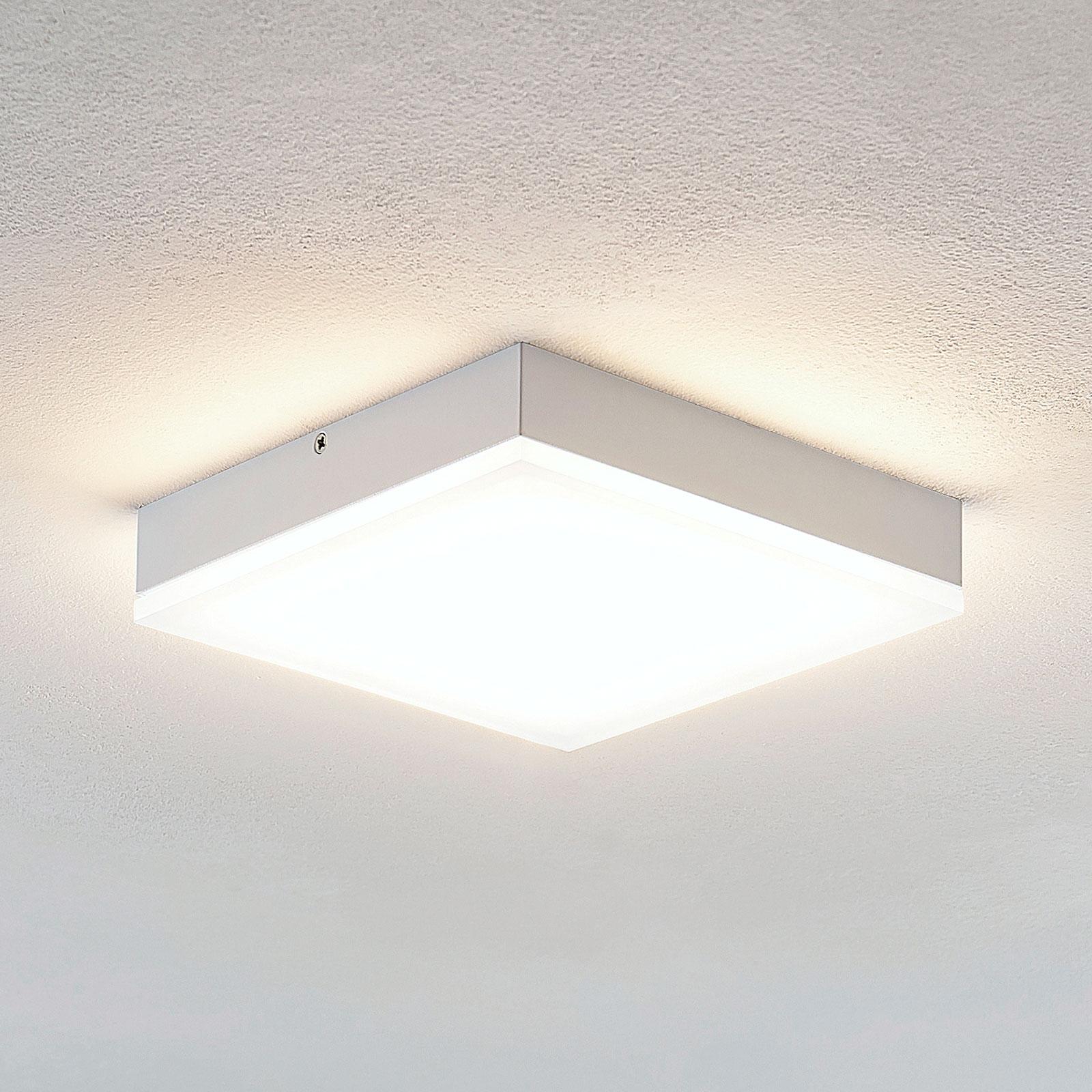 Lindby Tamito LED-kattovalaisin, valkoinen, 20 cm