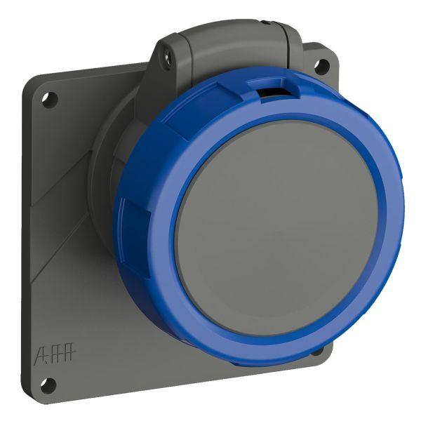 ABB 2CMA101291R1000 Seinäpistorasia IP67 Sininen, 16 A, 3-napainen