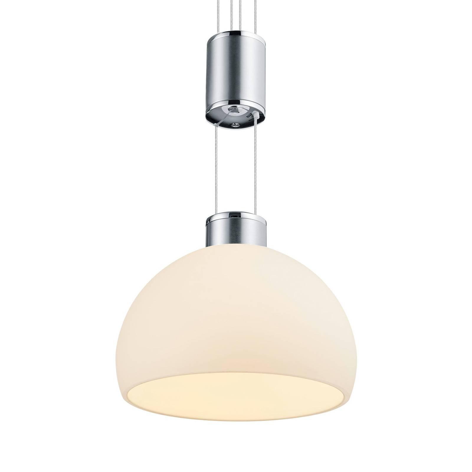 BANKAMP Meisterwerke -riippulamppu 3-lamp. nikkeli