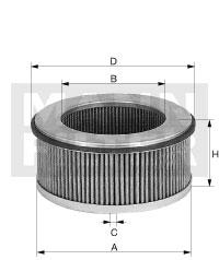 Raitisilmasuodatin MANN-FILTER CU 33 128