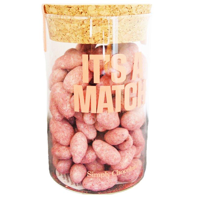 """Mandlar """"It's A Match"""" 280g - 75% rabatt"""