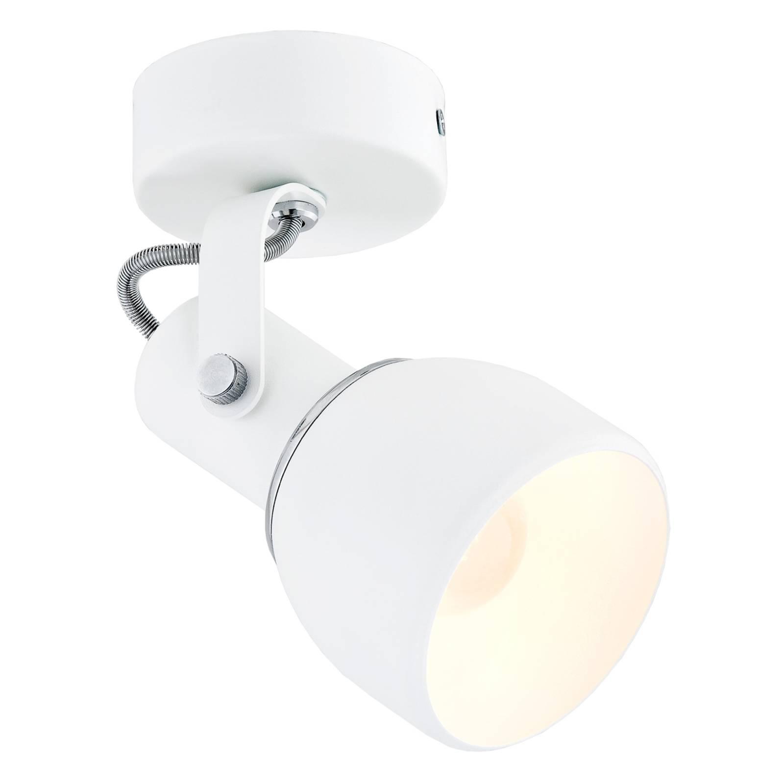 Kattokohdevalo Fiord, 1-lamppuinen, valkoinen