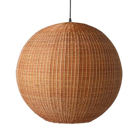 Bamboo pendant Taklampa Rund 60cm