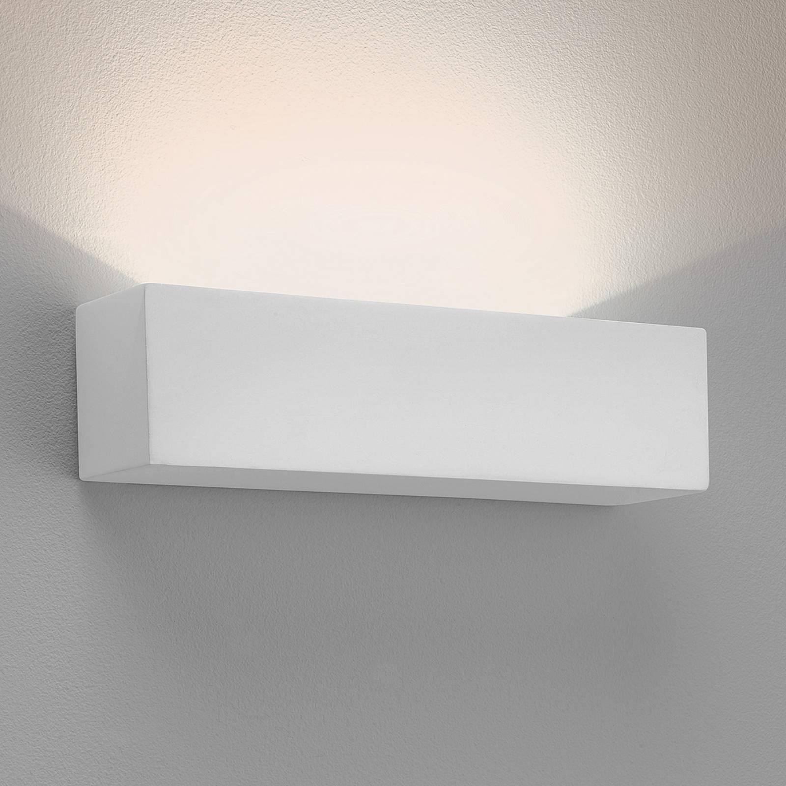Astro Parma 250 -LED-seinävalaisin kipsiä, 2 700 K