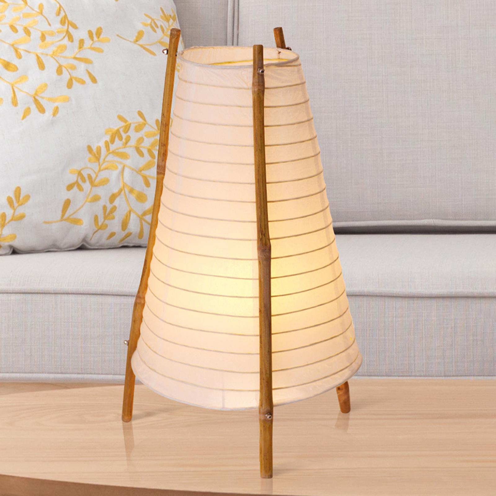 Bamboo-pöytävalaisin bambua ja paperia
