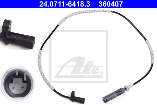 ABS-anturi ATE 24.0711-6418.3