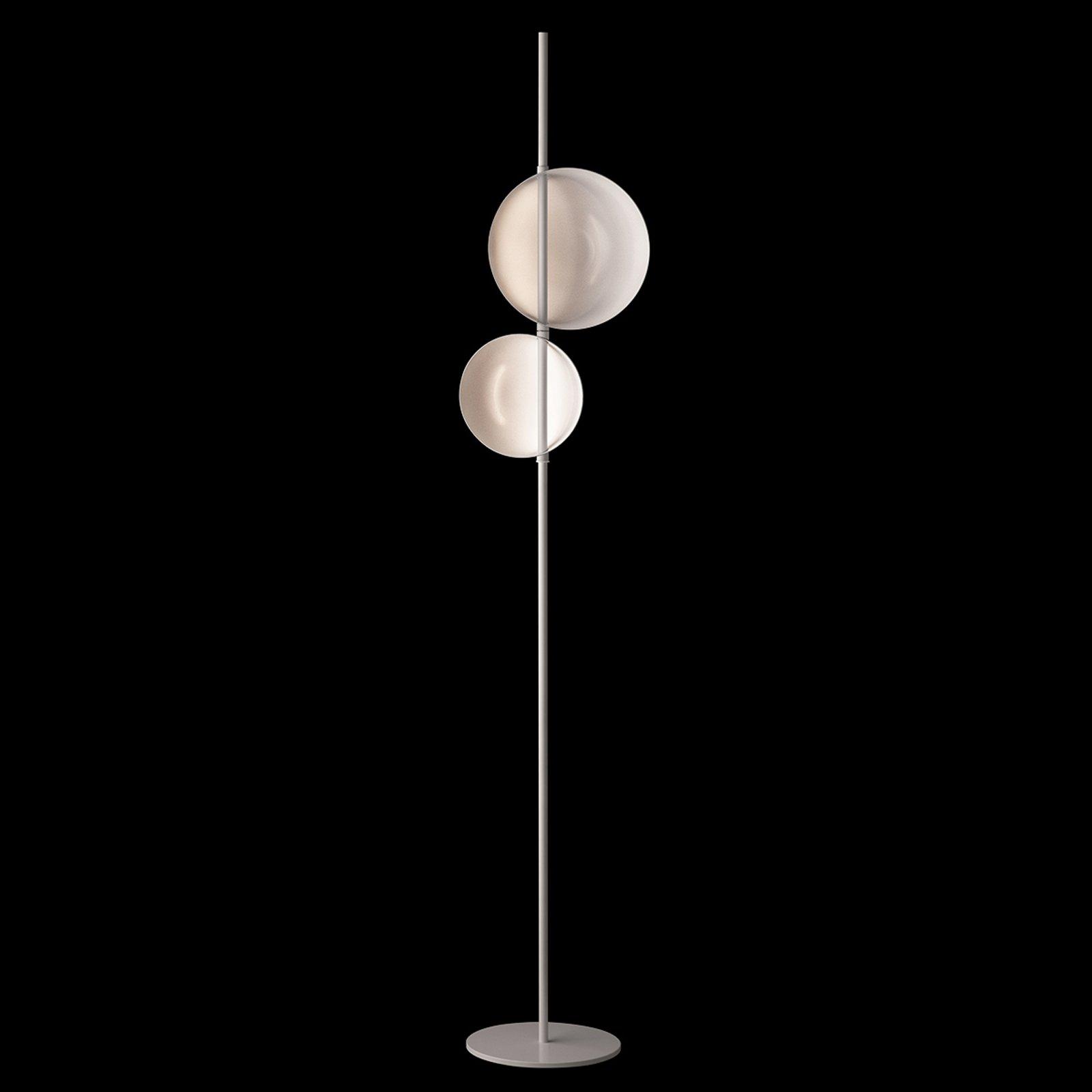 Oluce Superlana - designer-gulvlampe med LED-lys