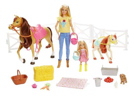 Barbie Dukke Klemmer og Hester