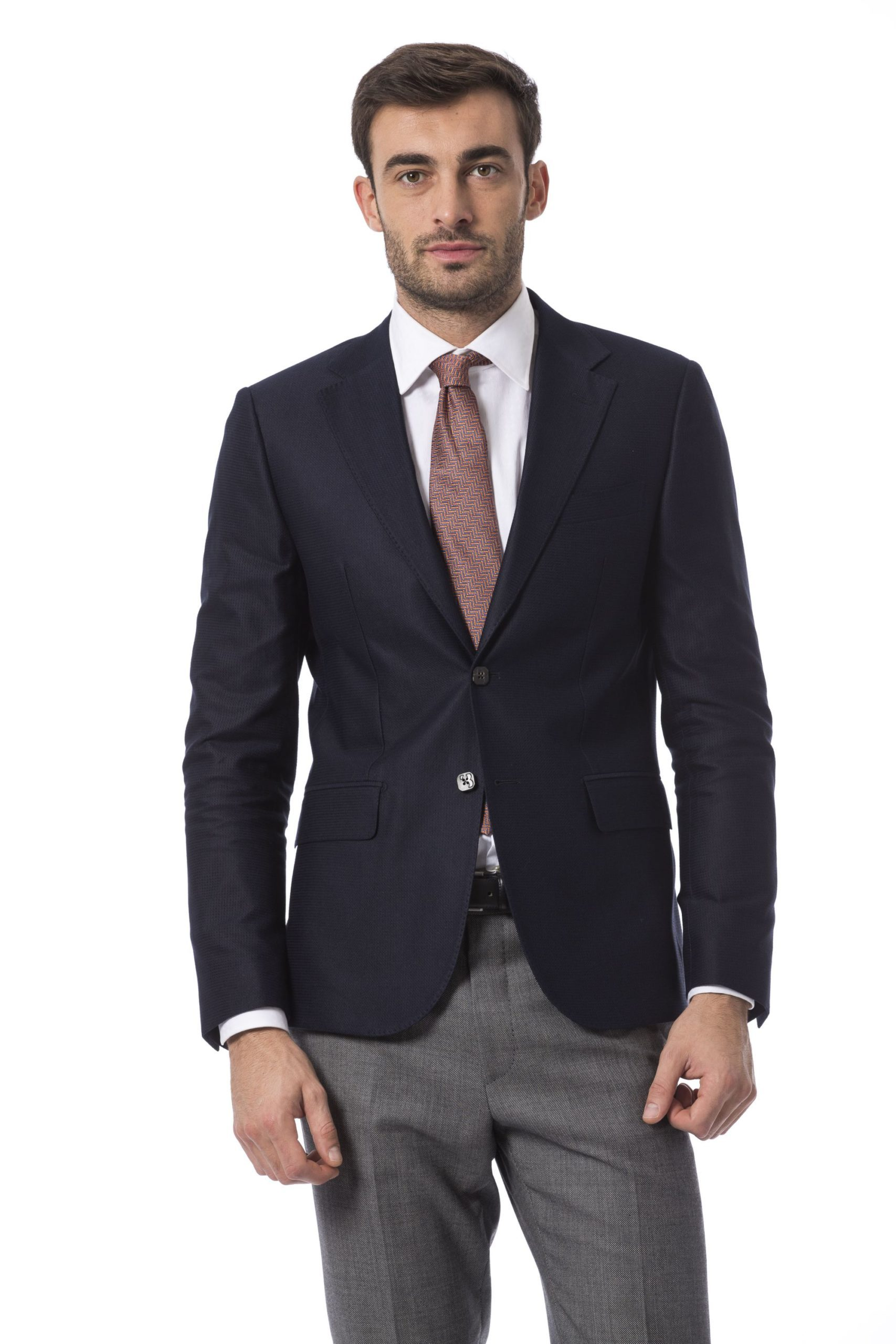 Billionaire Italian Couture Men's Blazer Blue BI996026 - IT48 | M