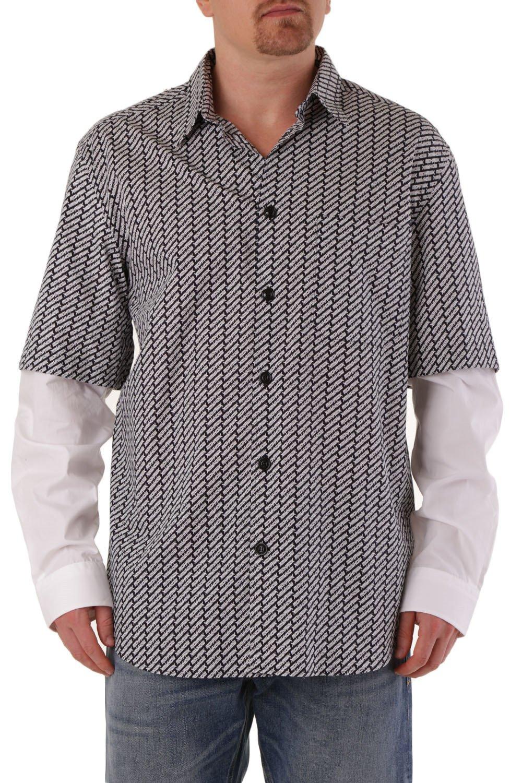 Diesel Men's Shirt Blue 287429 - blue-3 L
