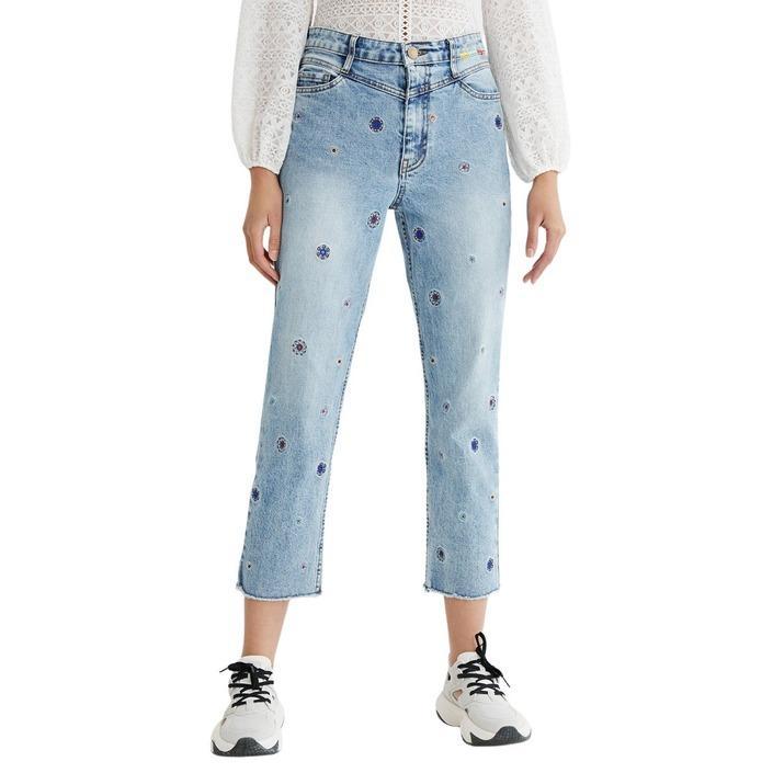 Desigual Women's Jeans Blue 305124 - blue 34