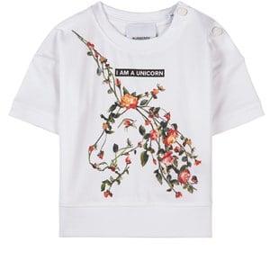 Burberry Rose Unicorn T-shirt Vit 12 mån