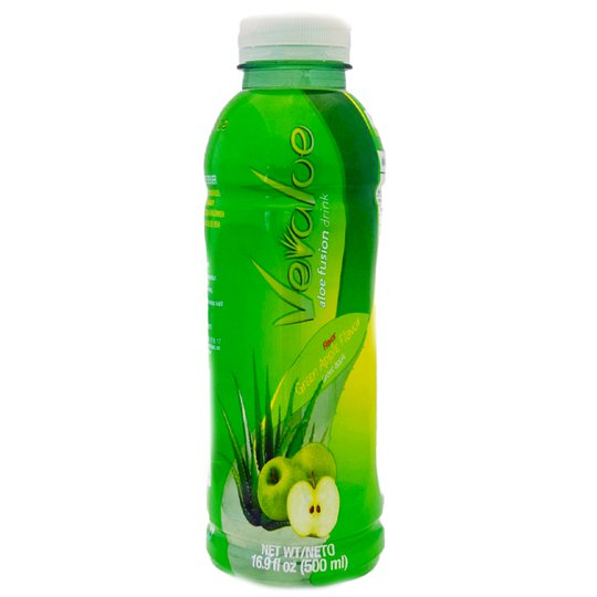 Aloe Vera-dryck Grönt Äpple - 75% rabatt