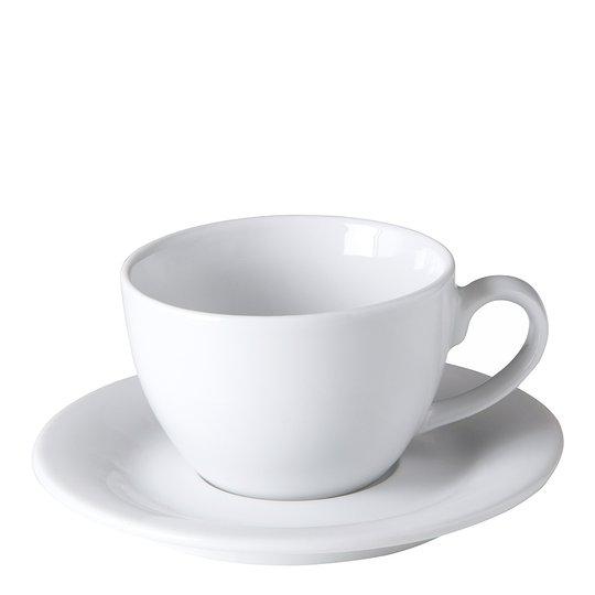 Table Top Stories - Blues Cappuccinokopp med fat Vit