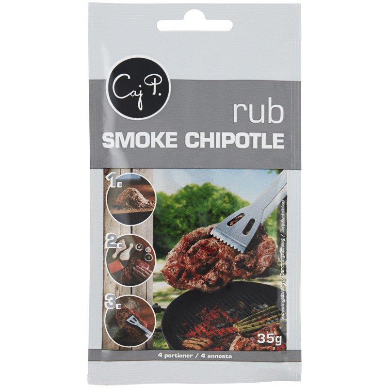 "Maustesekoitus ""Rub Smoke Chipotle"" 35g - 30% alennus"