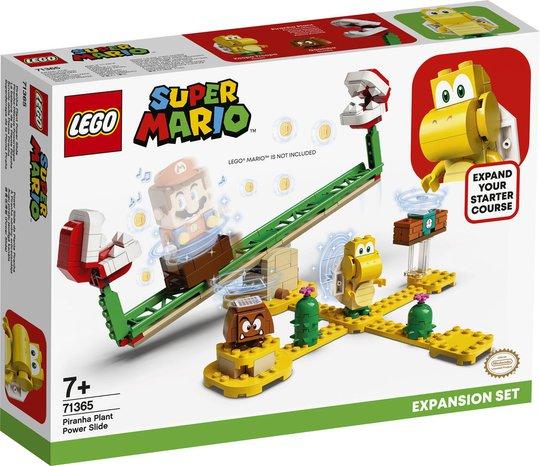 LEGO Super Mario 71365 Ekstrabanen Pirajaplante Power Slide