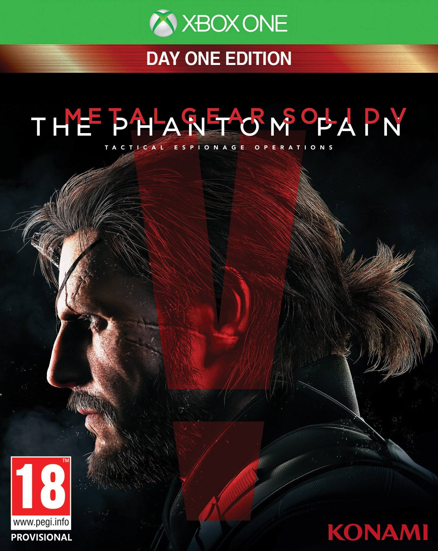 Metal Gear Solid V (5): The Phantom Pain - Day One Edition