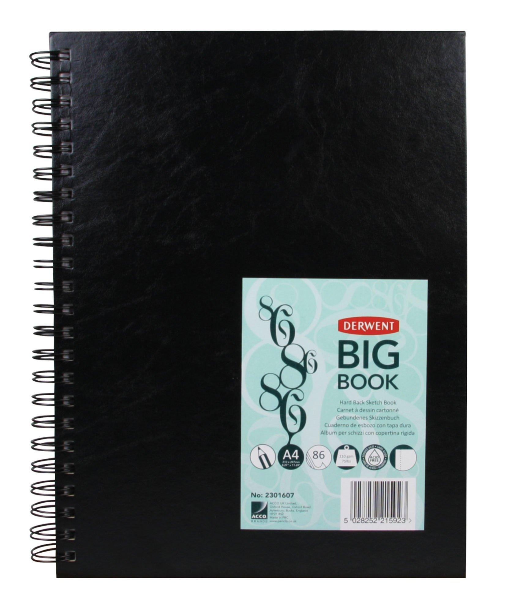 Derwent - Wiro Sketch Book, A4 White Paper